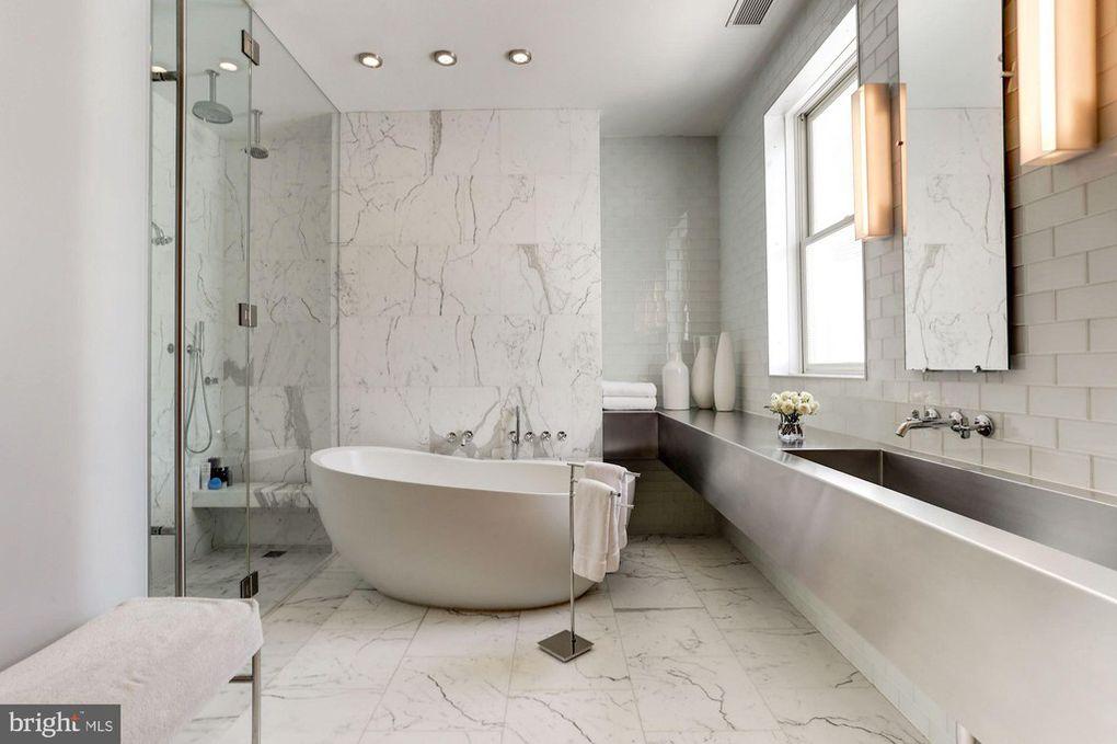bathroom, shower, tub
