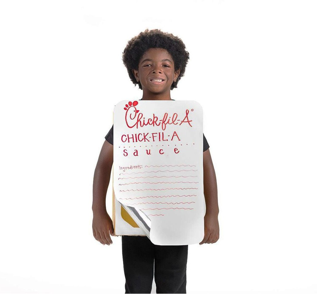 Chick-fil-A Sauce DIY Halloween Costume