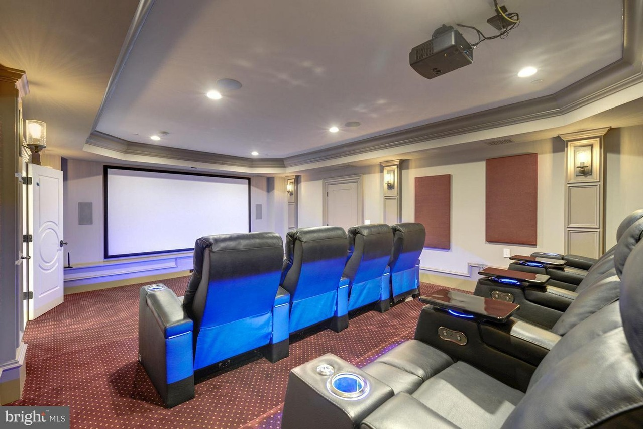 in-home movie theater