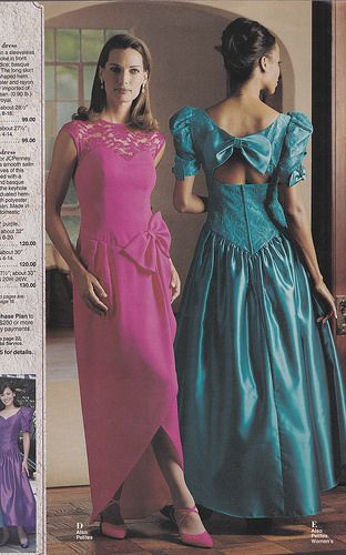 1990s bridesmaid dresses
