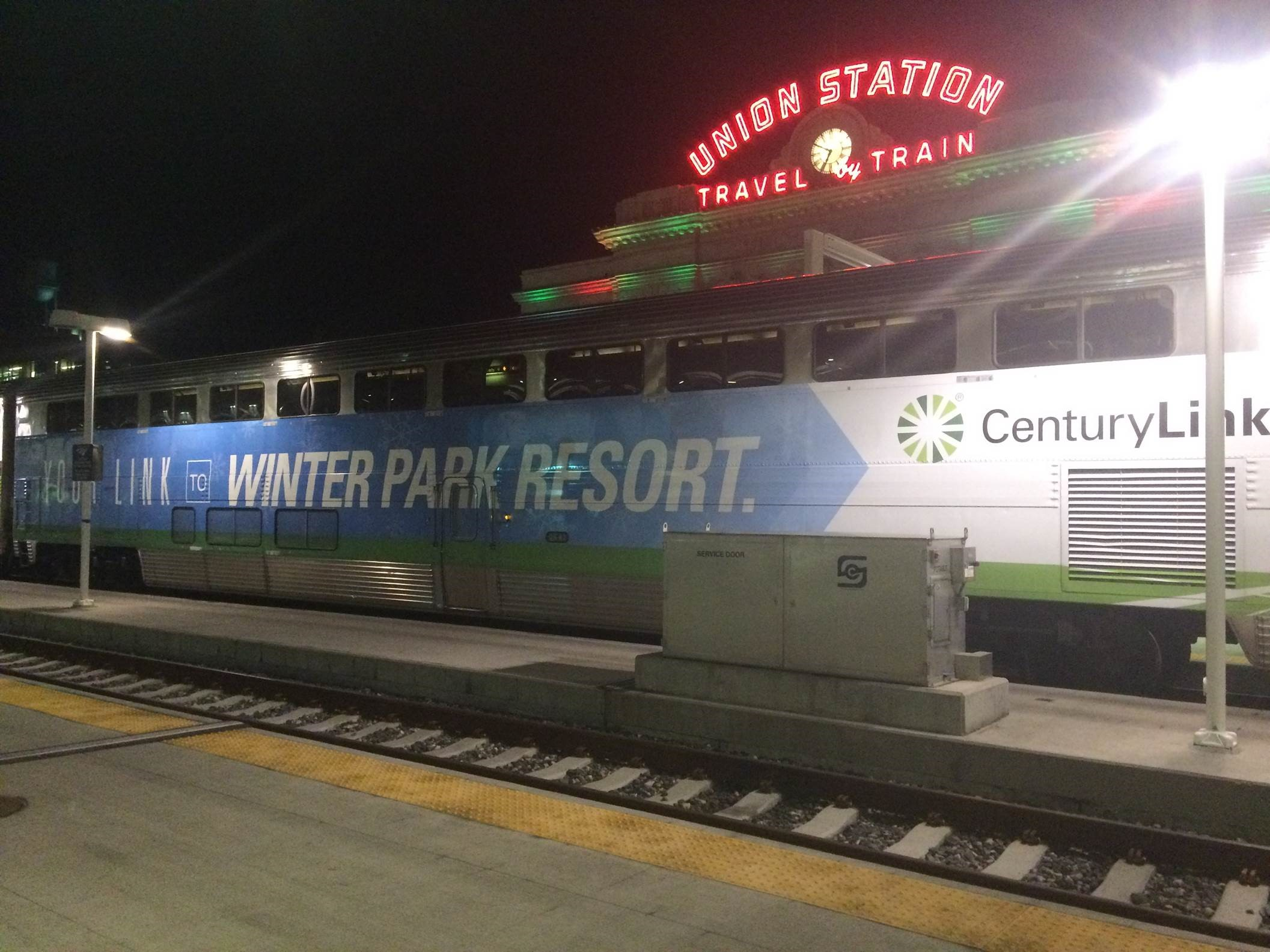 colorado holiday trains, Winter Park Express