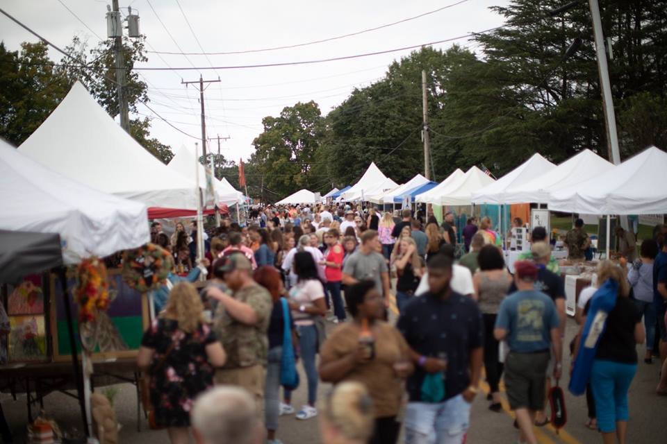 wine festival, crowd