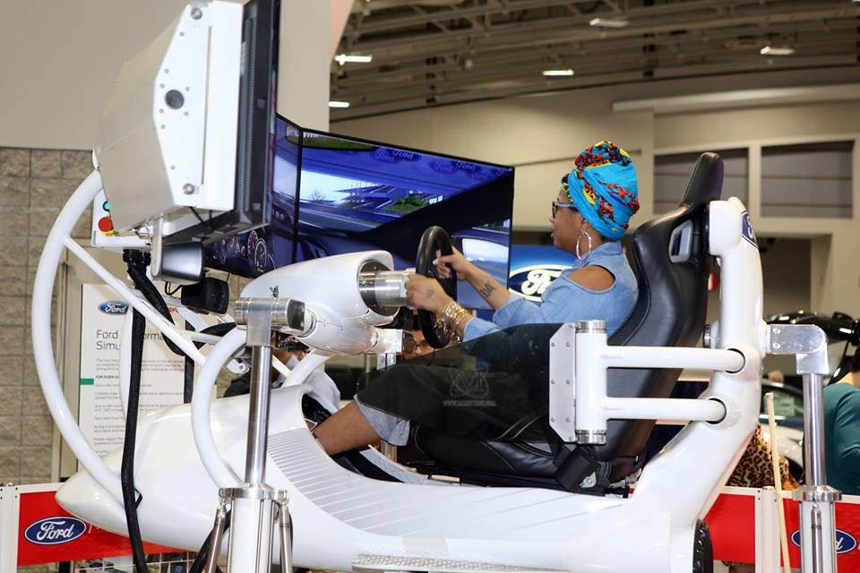ford simulator, Washington Auto Show