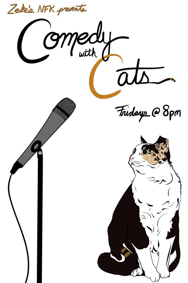 Comedy With Cats Poster