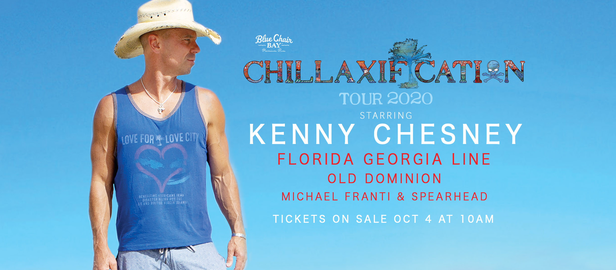 kenny chesney chillaxification 2020 tour