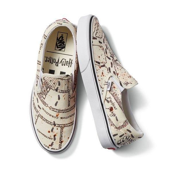 Marauders Map Shoe