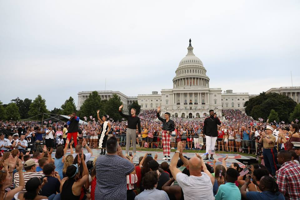 Pentatonix, Capitol Fourth