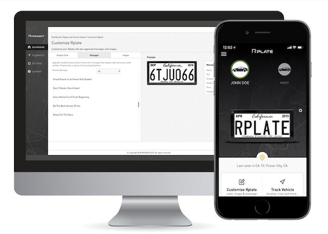Rplate app