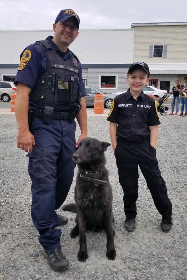 K9 unit, police