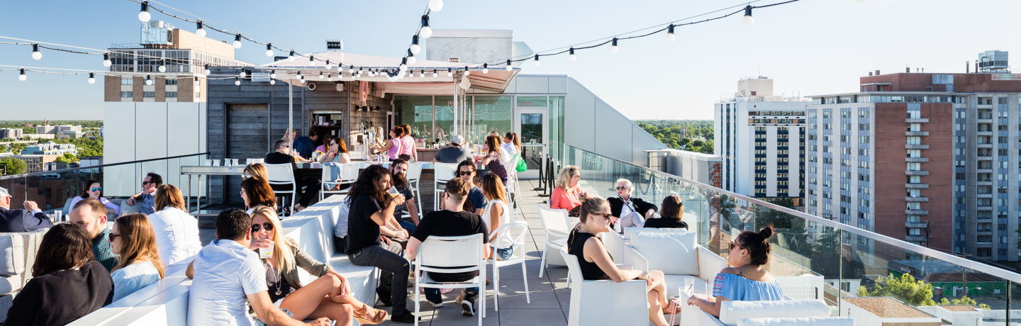 Quirk Hotel Richmond Virginia Q Rooftop Bar