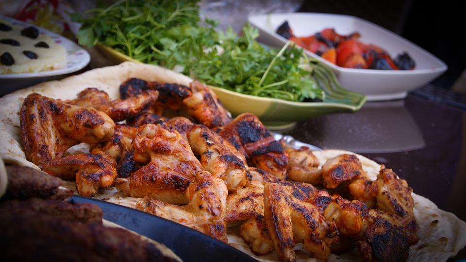 bbq chicken, barbecue chicken