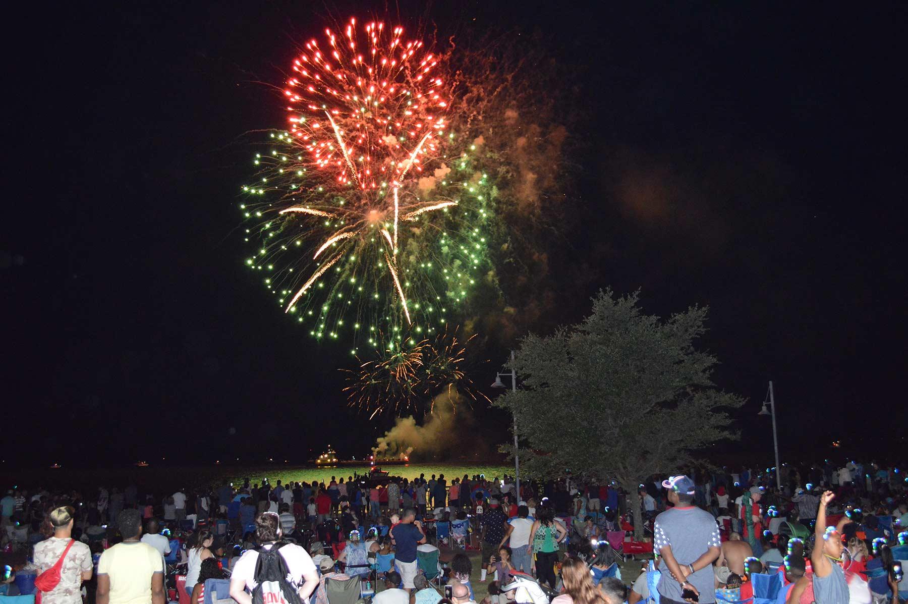 Newport News Fireworks