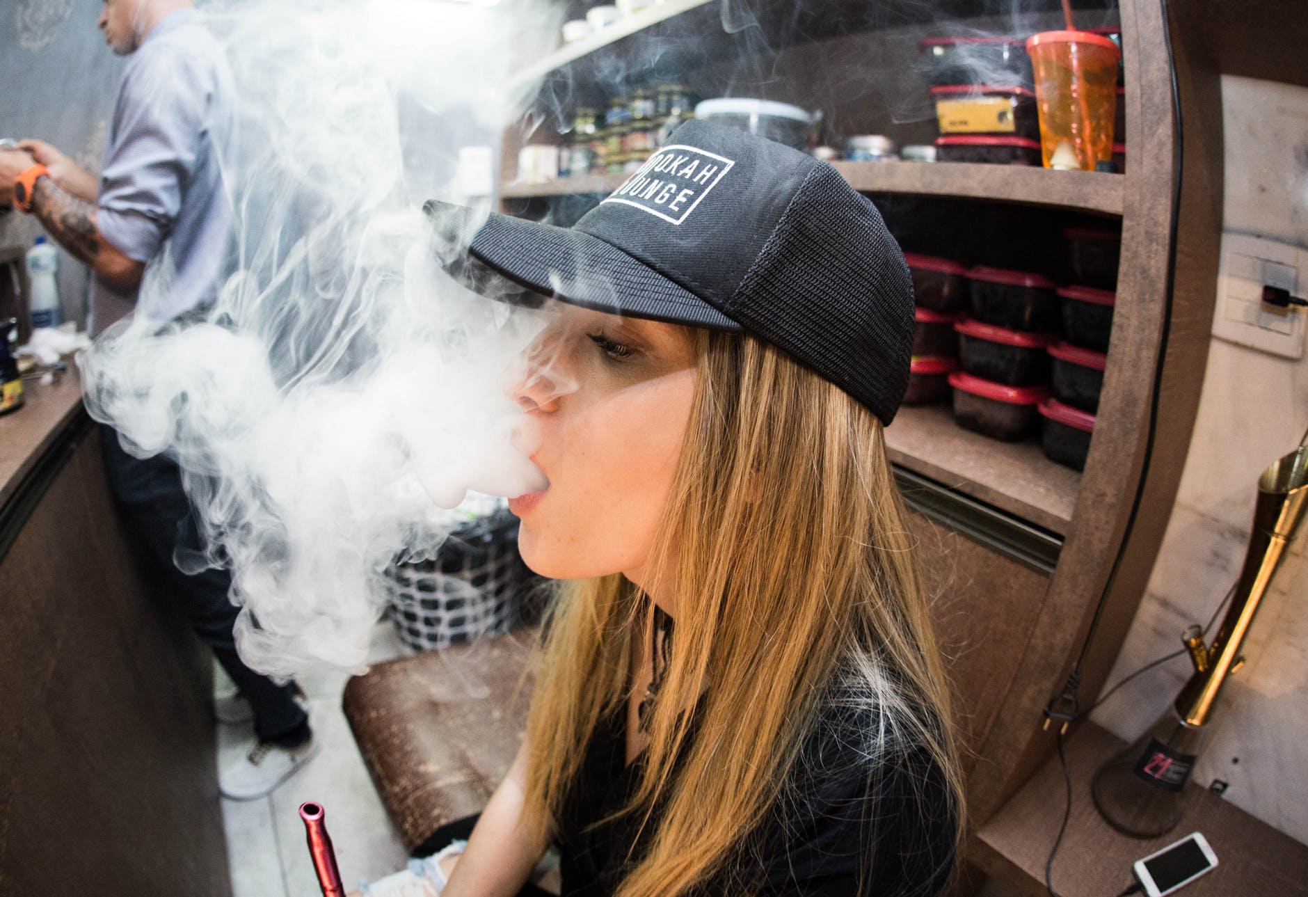 vaping, smoke