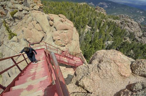 Devil's head fire lookout near sedalia, colorado
