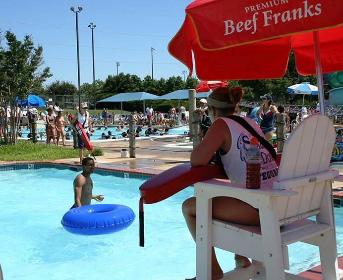 lifeguard, pool