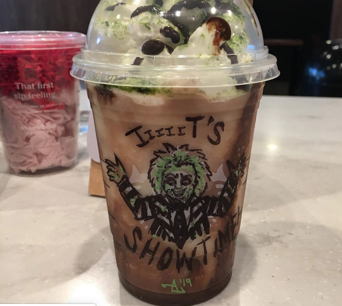 Here S How To Order The Beetlejuice Frappuccino From