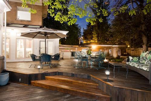 Exterior deck, 1070 Humboldt Street