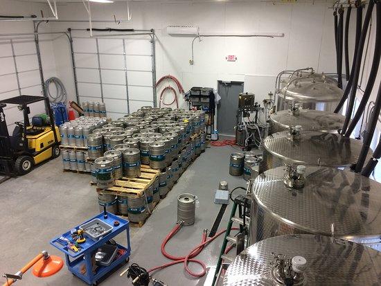 Sly Clyde Ciderworks Distribution Production Facility Cidery Hampton Virginia