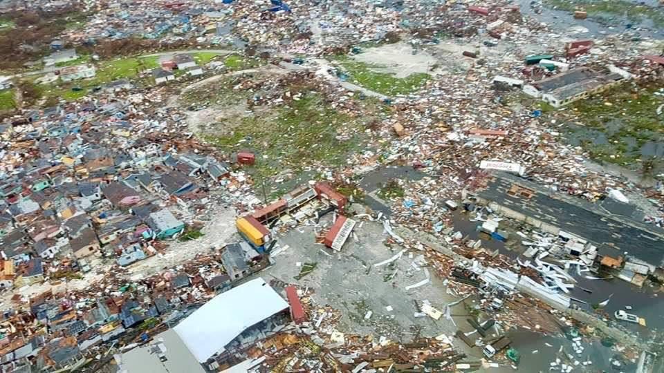 Bahamas, aerial view