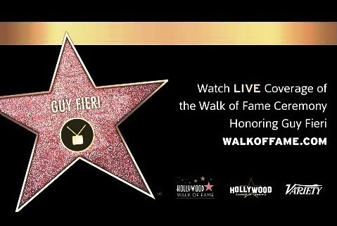 Variety Star on the Hollywood Walk of Fame Food Network Guy Fieri