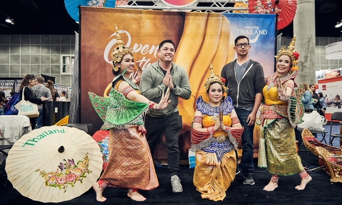 travel and adventure show, Thailand
