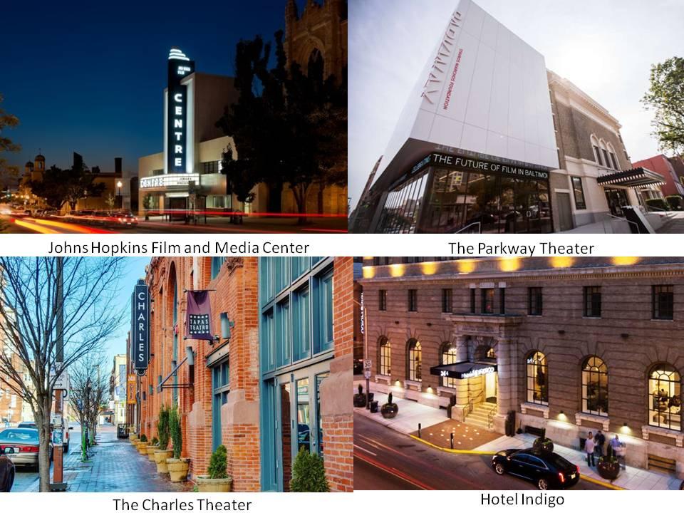 Charles Theatre Center Theatre Patrick Theatre Hotel Indigo Baltmore Maryland