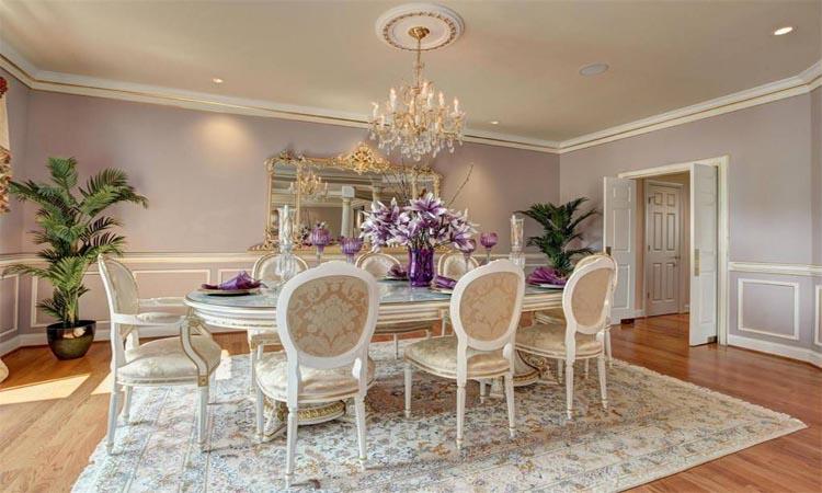 Masonwood dining room
