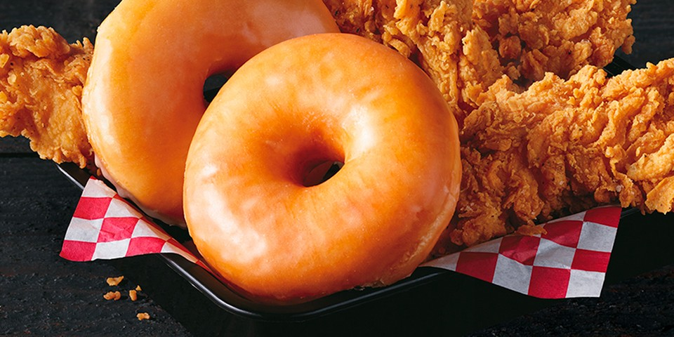 Chicken and Donut