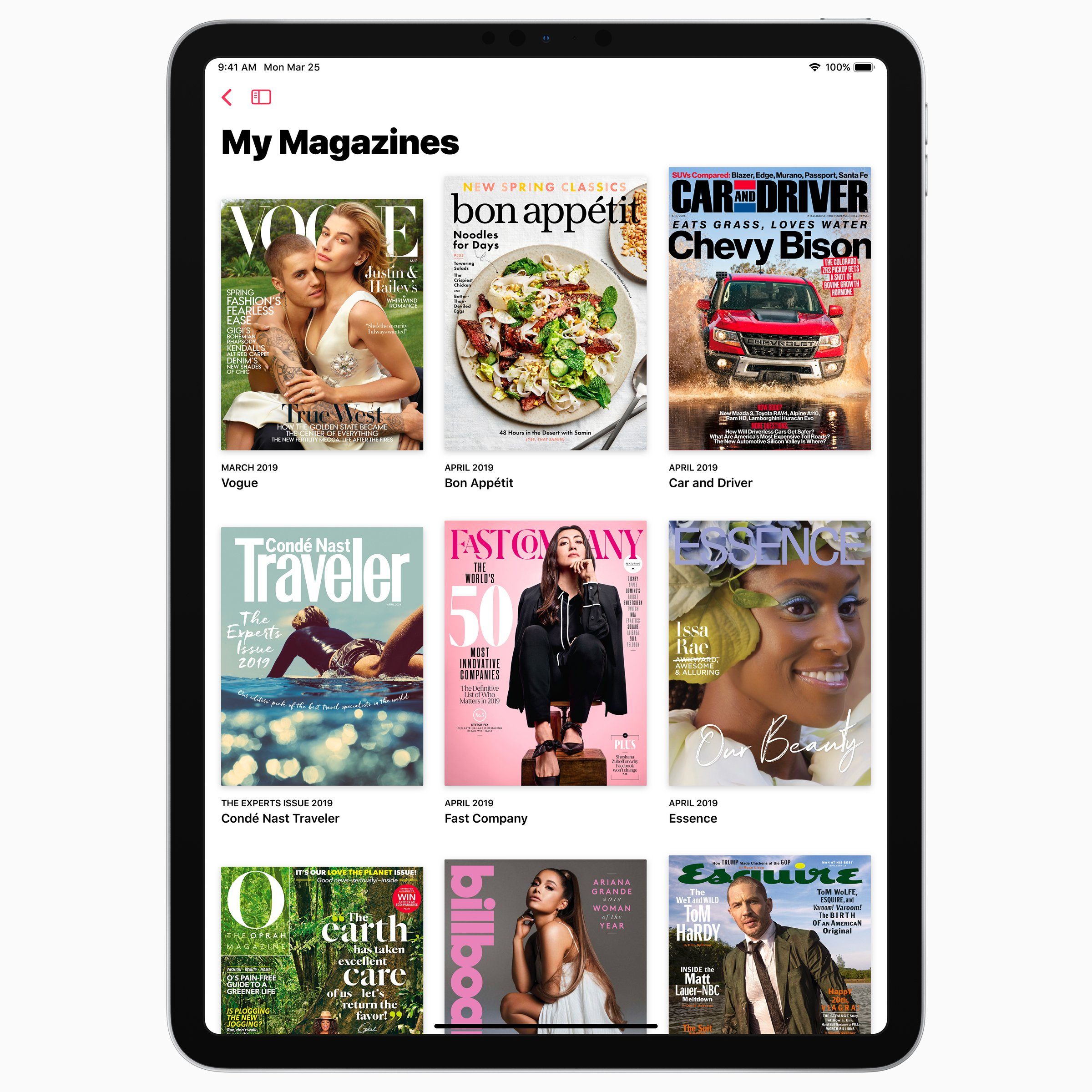 Apple News+ Magazine