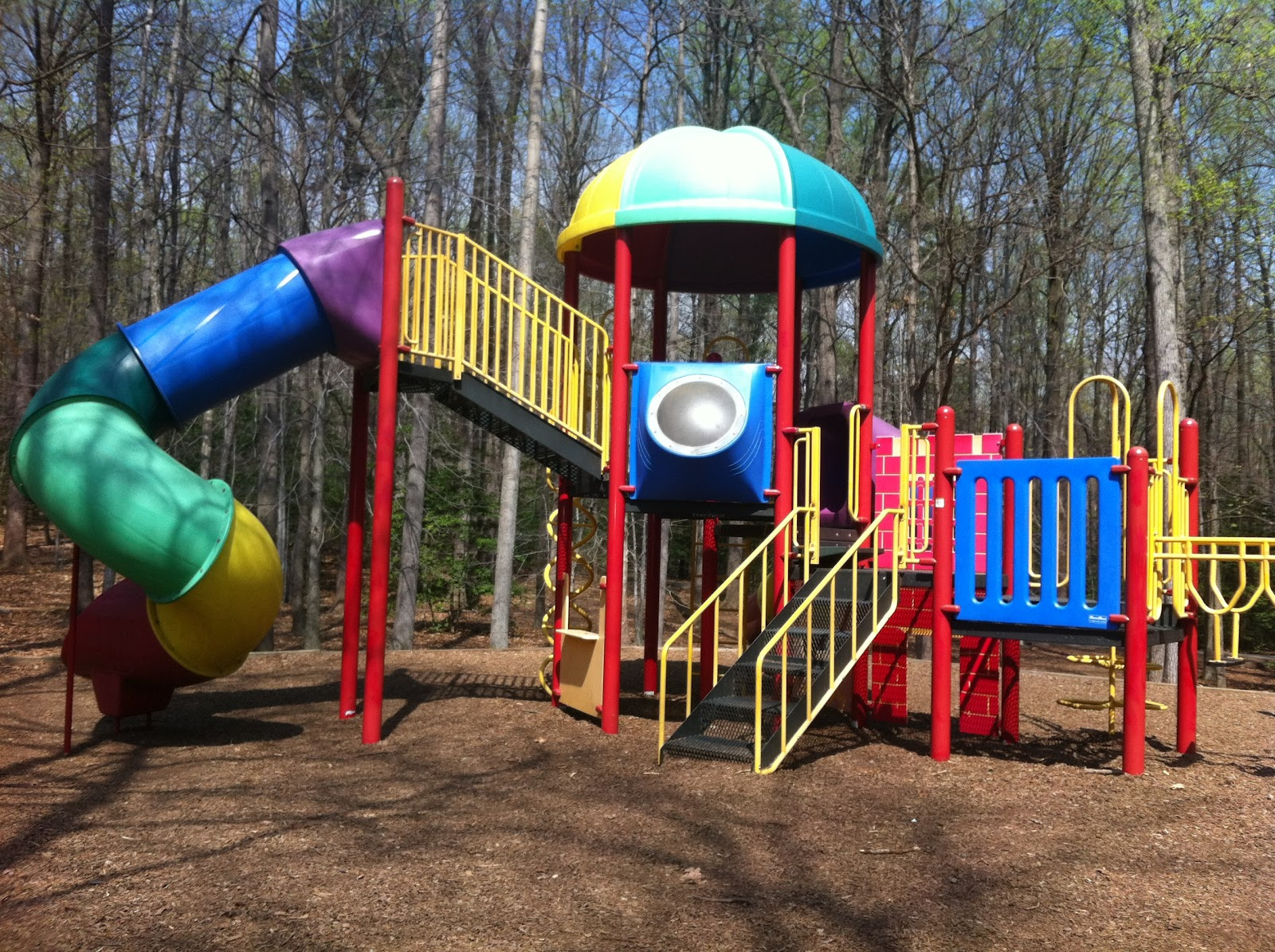 shady Northern Virginia playgrounds