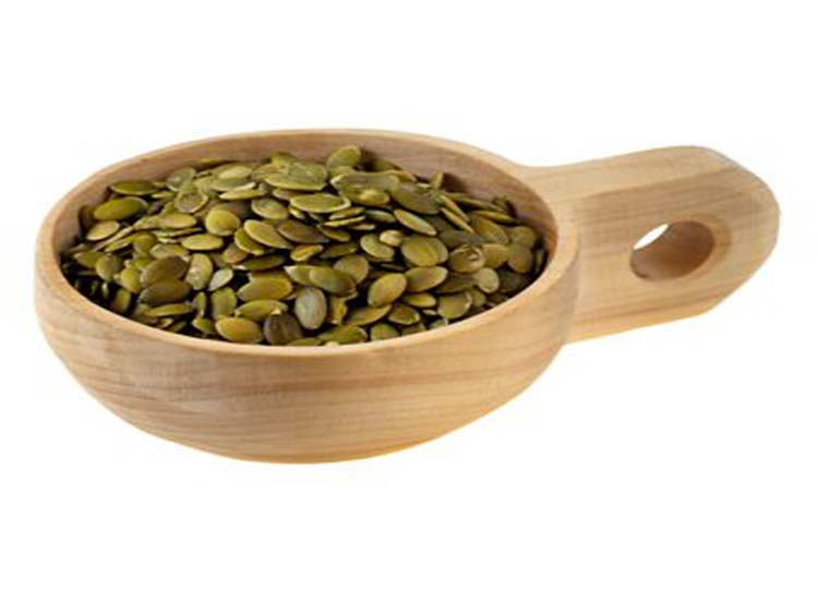 Pumpkin seeds are good in salads and other foods.