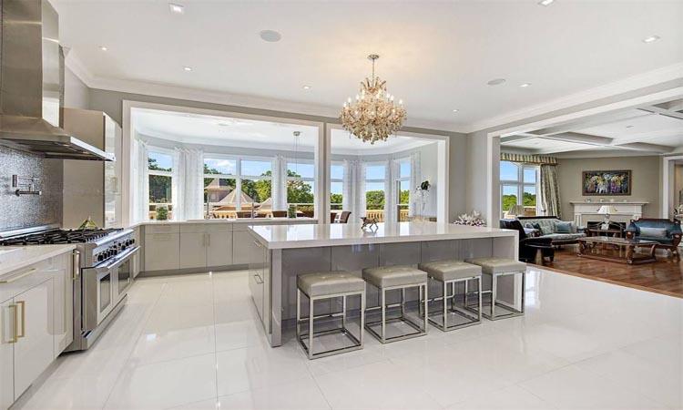 Masonwood indoor kitchen