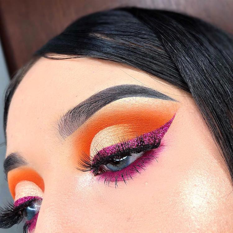 Pink Glitter liner