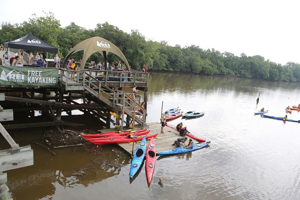 REI, kayaks