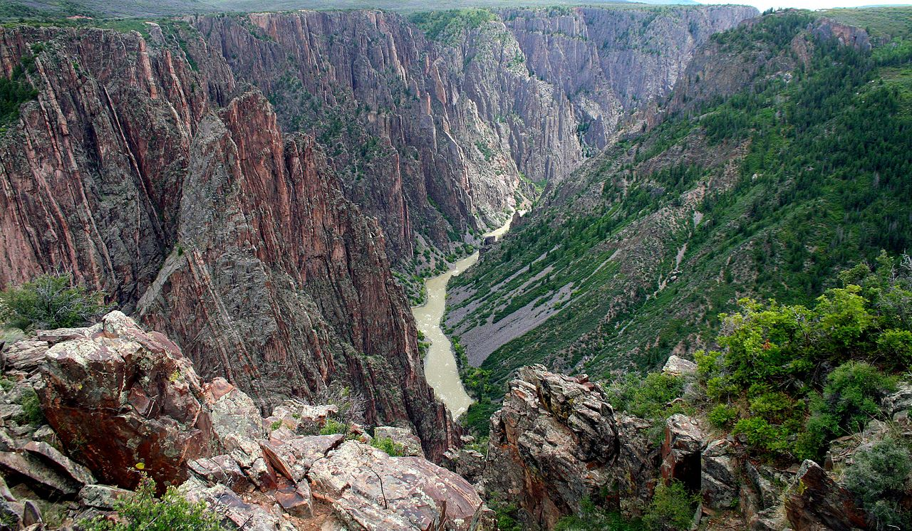 black canyon national park in montrose, colorado