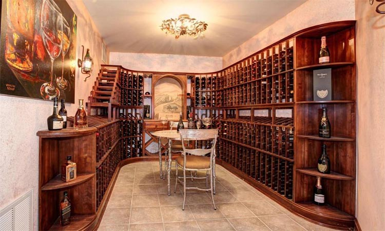 Masonwood wine cellar