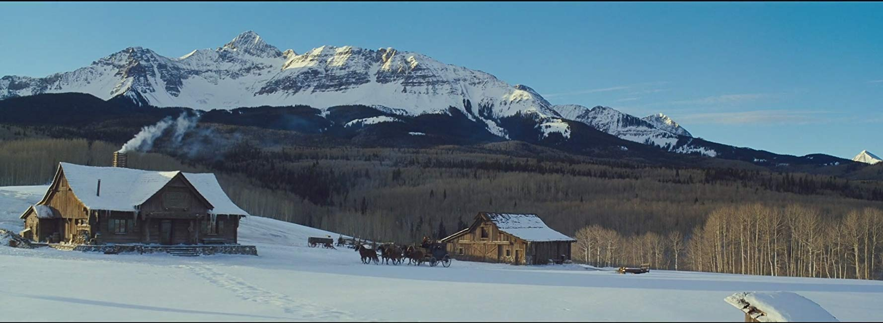 hateful eight filming location in telluride, colorado