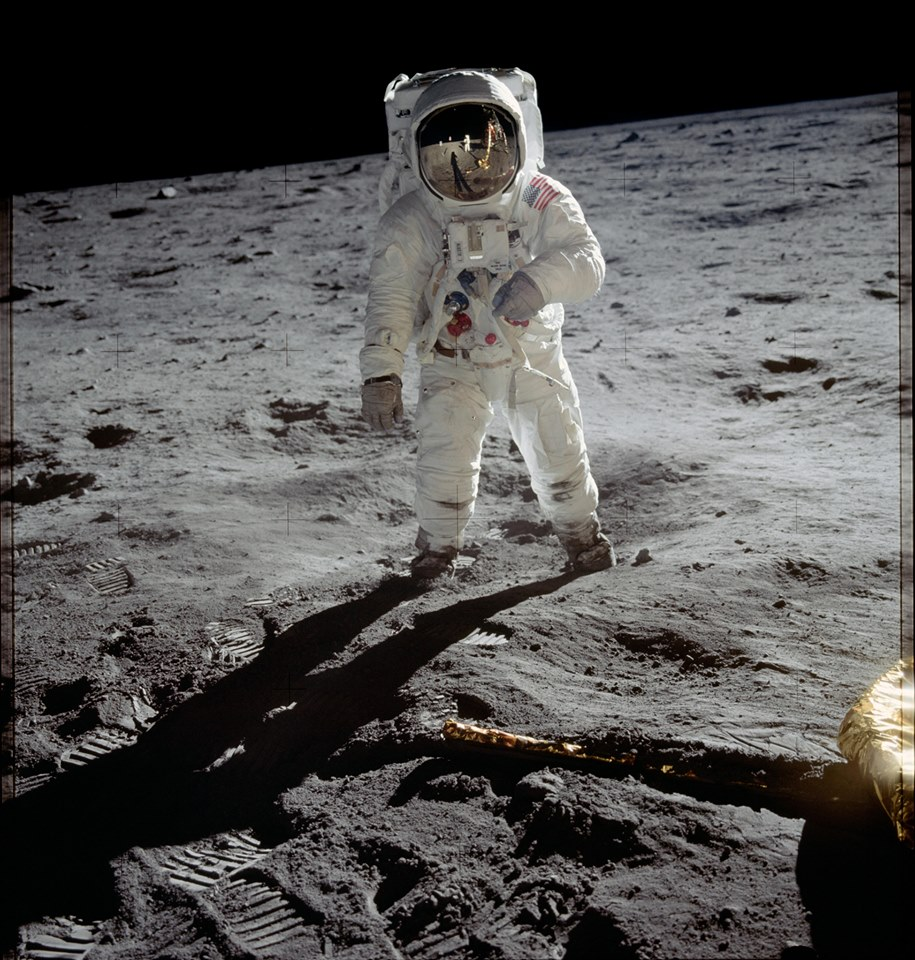 Moon landing image Armstrong