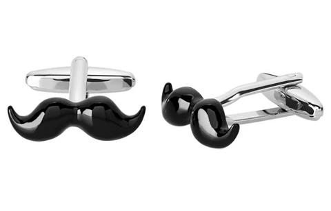Mustache Cuff Links