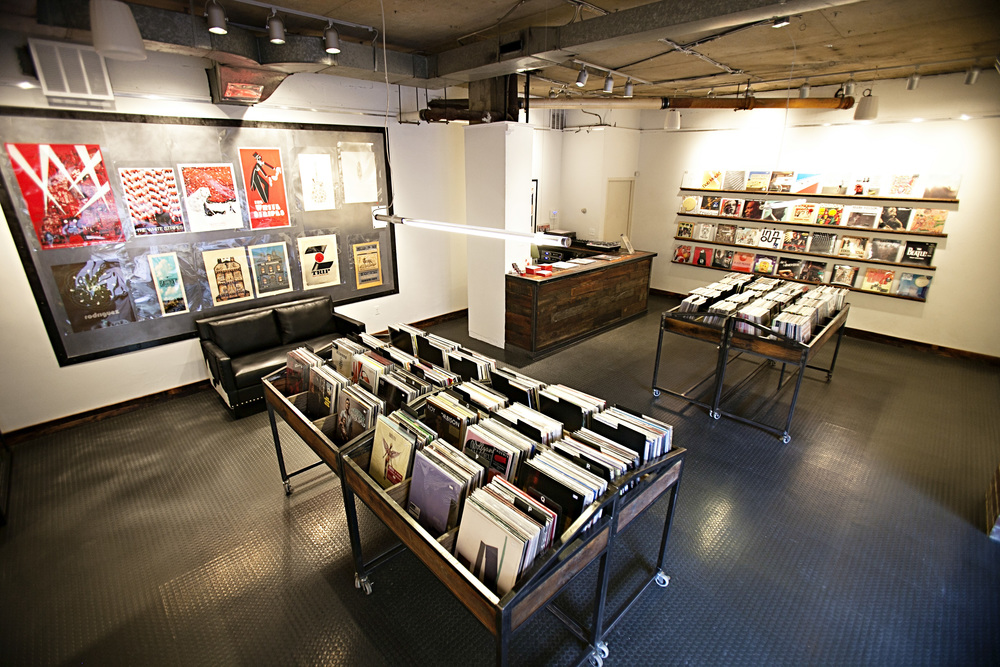 shot of store, courtesy of hill & dale records