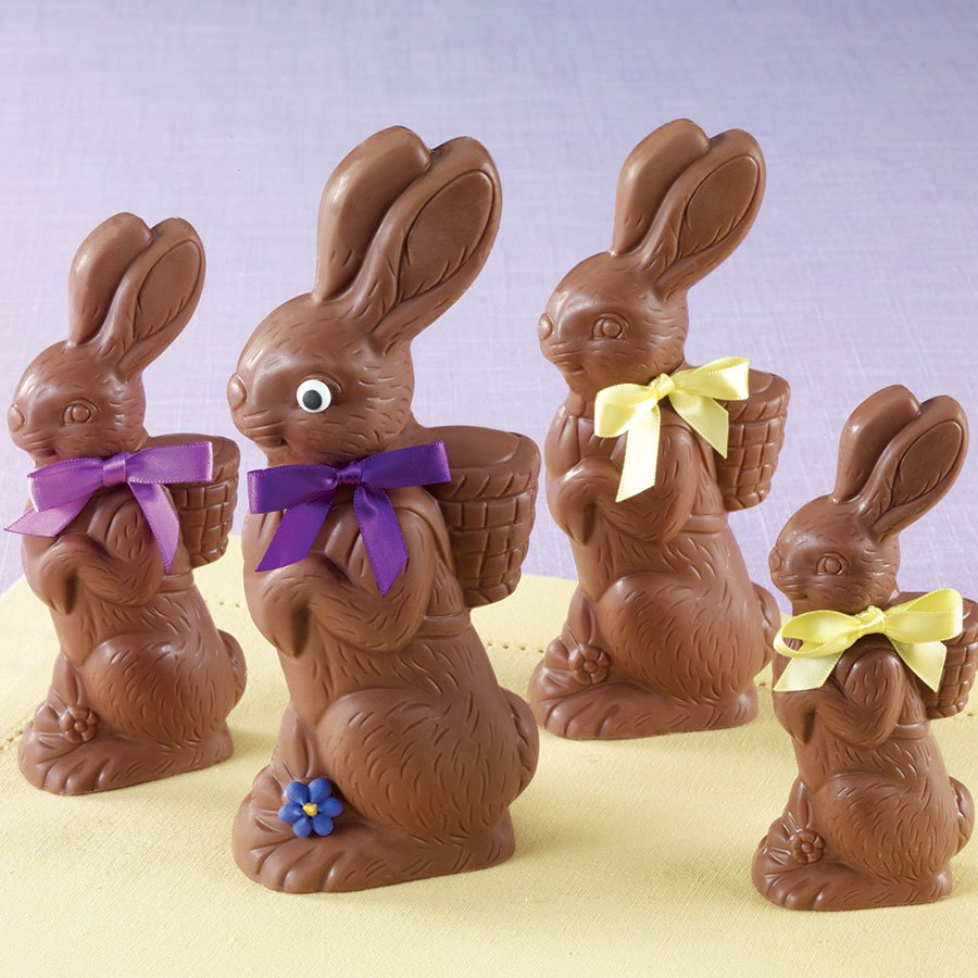 chocolate bunny, Sarris