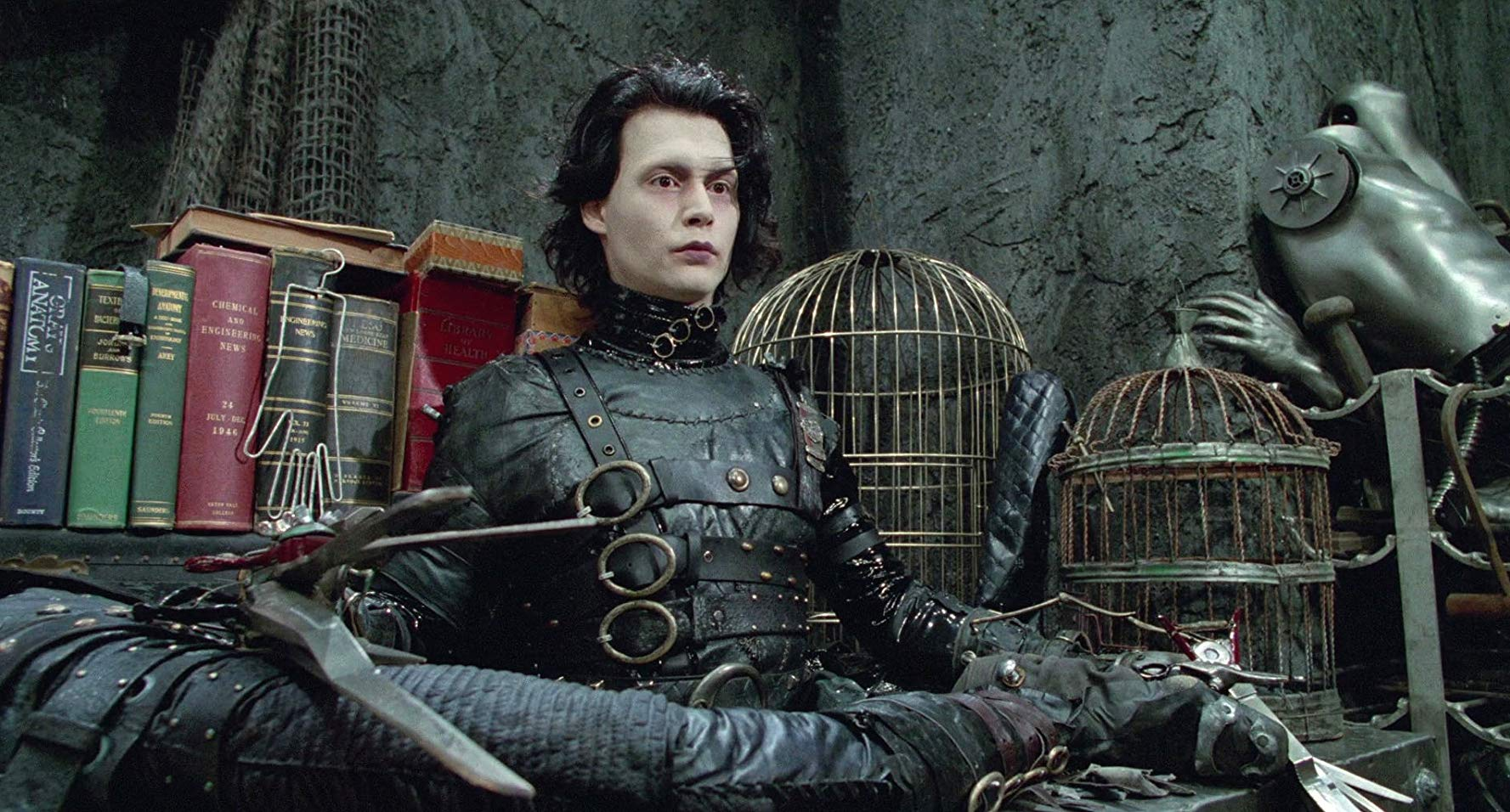 edward scissorhands, tim burton, johnny depp