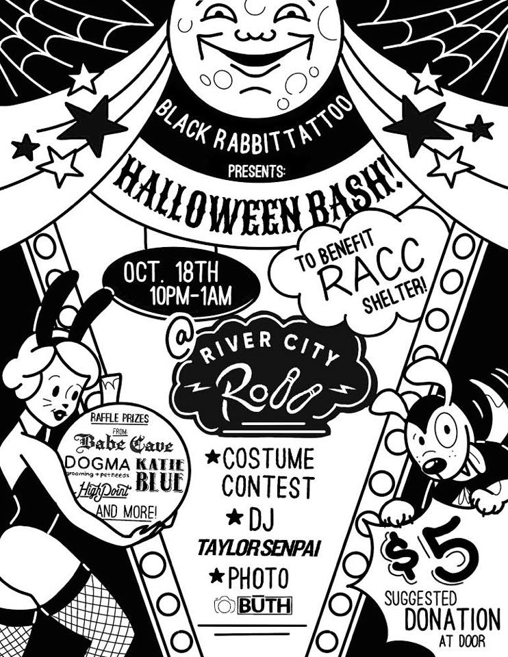 Halloween Bash and Benefit Banner