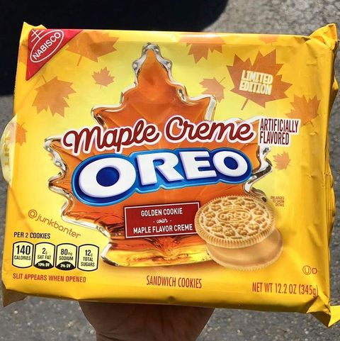 Maple Creme Oreos