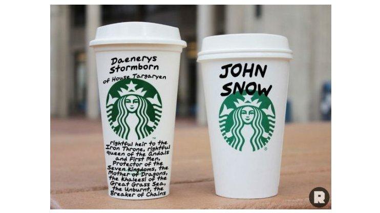 Starbucks GoT cups