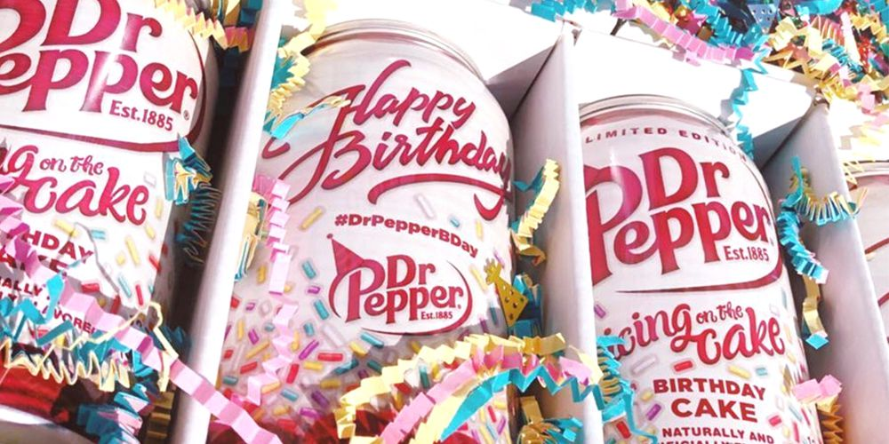 Terrific Birthday Cake Flavored Dr Pepper Is A Thing And Heres How You Personalised Birthday Cards Veneteletsinfo