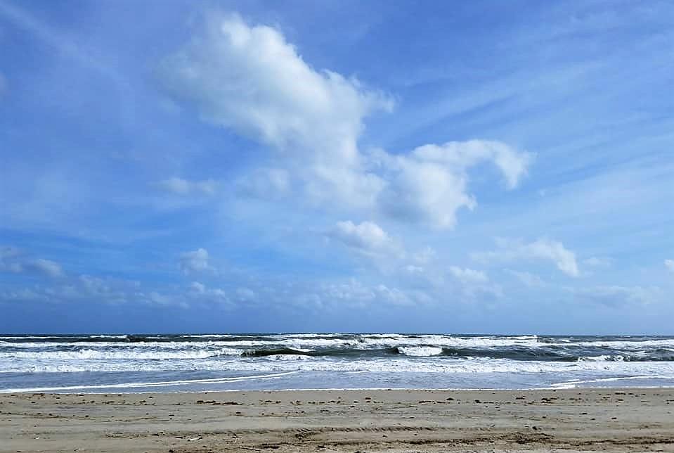 ocean, waves, beach
