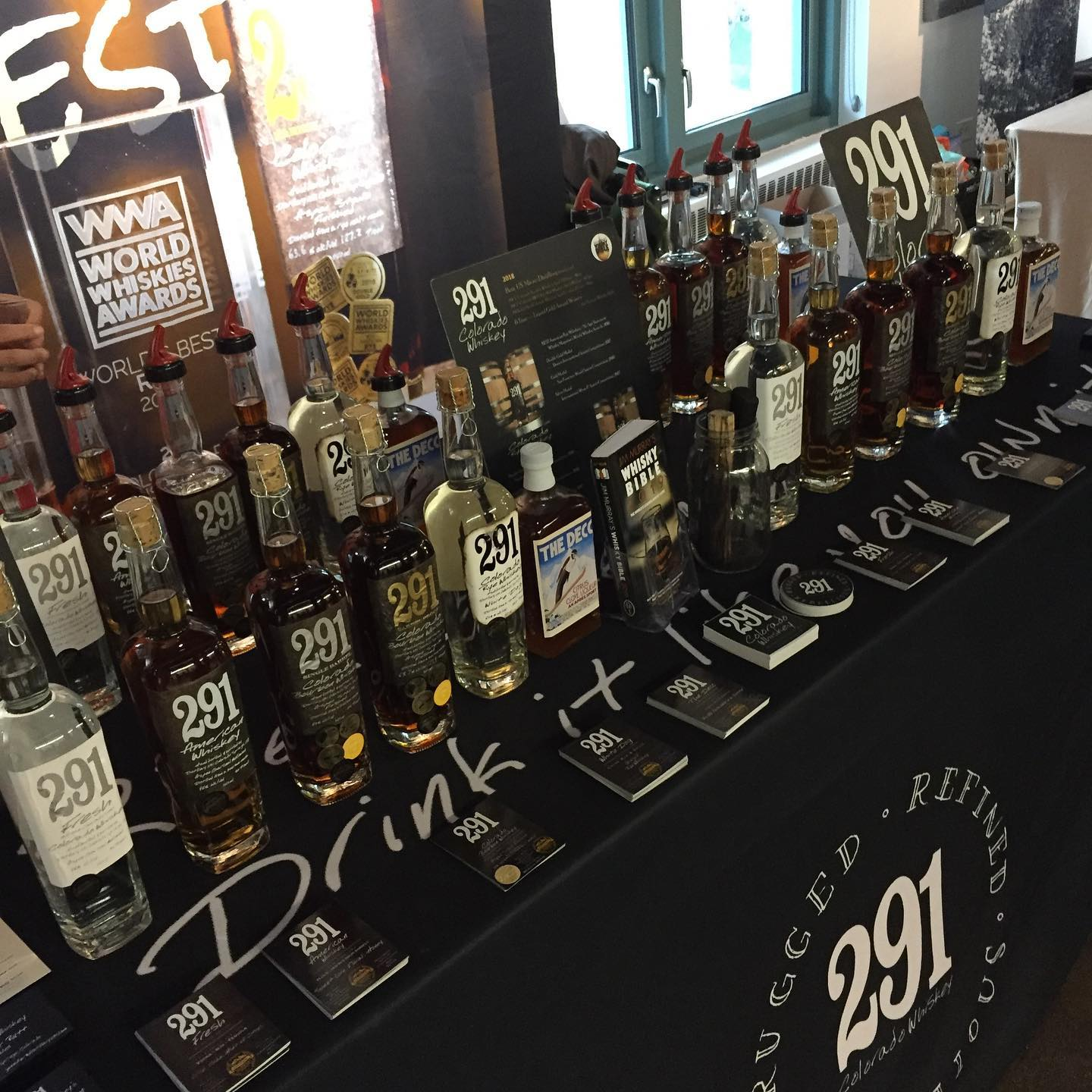 co spirits table