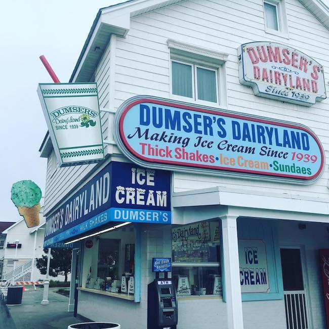 Dumser's Dairyland in Ocean City, courtesy Facebook