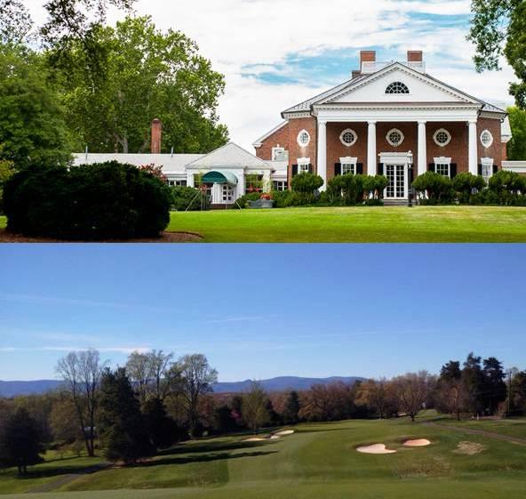 Farmington Country Club Charlottesville Virginia #5 of Top 5 Golf courses in Virginia for 2019